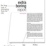 design boring report revised